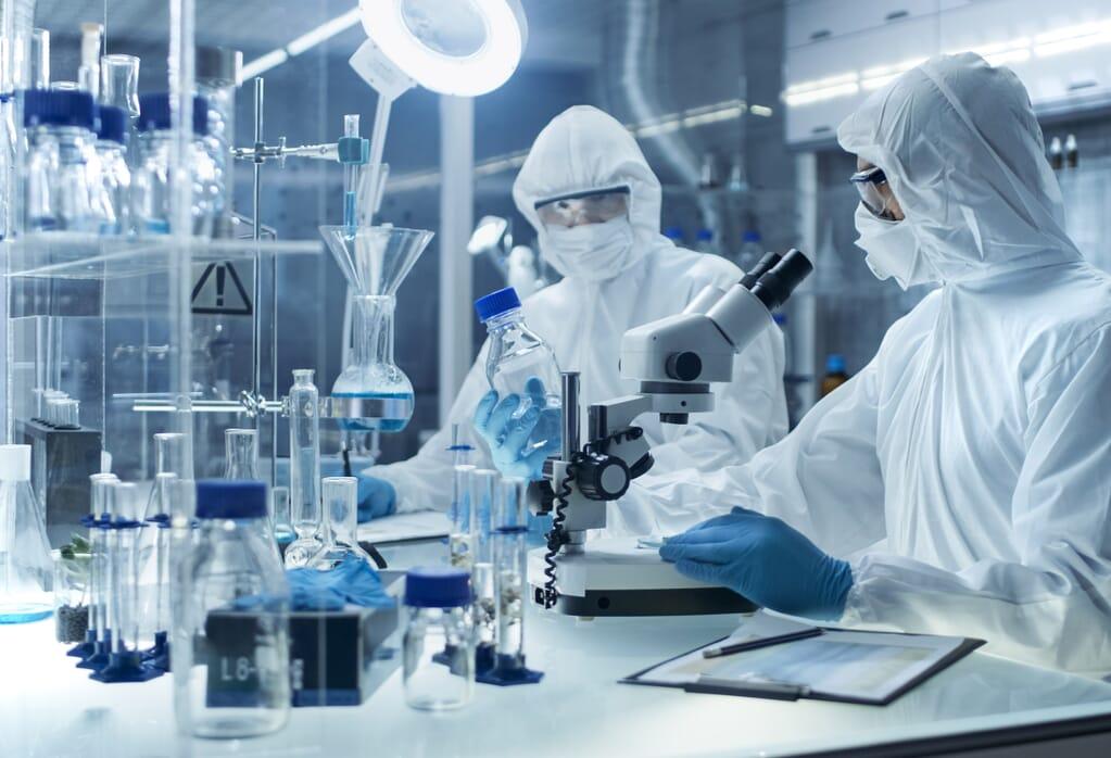 APSX Air Pressure Stabiliser in Cleanroom