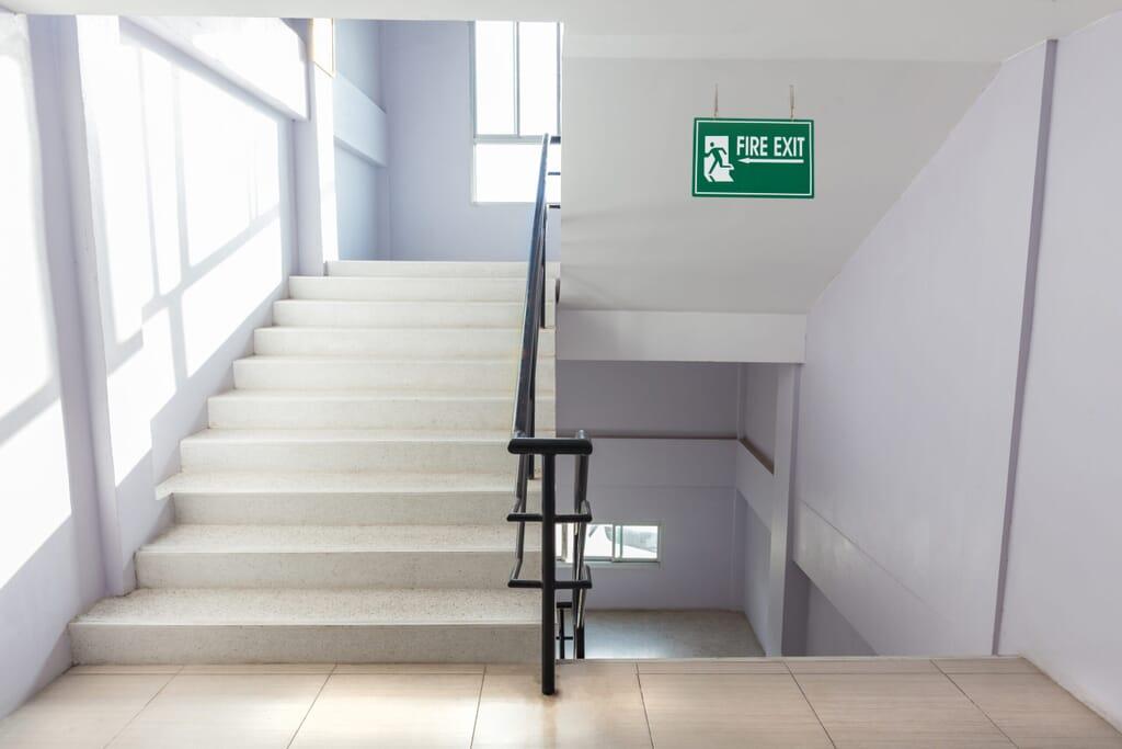stairwell pressurisation system