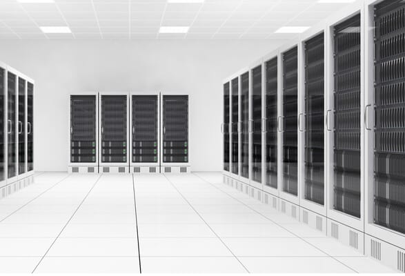 Fire suppression for data centres with air pressure vents